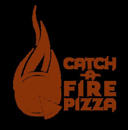 Catch Fire Pizza Logo Rust8b3308 Brand Colors
